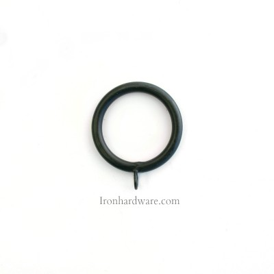 Wrought iron curtain ring 2.5